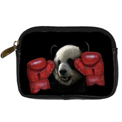 Boxing Panda  Digital Camera Cases by Valentinaart