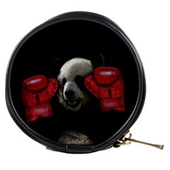 Boxing Panda  Mini Makeup Bags by Valentinaart