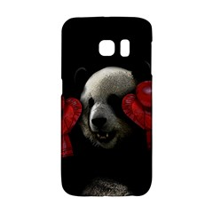 Boxing Panda  Galaxy S6 Edge by Valentinaart