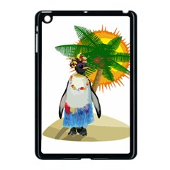 Tropical Penguin Apple Ipad Mini Case (black) by Valentinaart