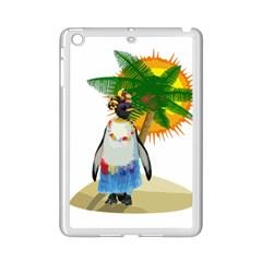 Tropical Penguin Ipad Mini 2 Enamel Coated Cases by Valentinaart