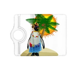 Tropical Penguin Kindle Fire Hd (2013) Flip 360 Case by Valentinaart