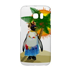 Tropical Penguin Galaxy S6 Edge by Valentinaart