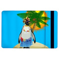 Tropical Penguin Ipad Air 2 Flip by Valentinaart