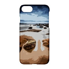 Landscape Apple Iphone 7 Hardshell Case by Valentinaart