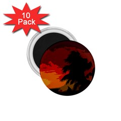 Landscape 1 75  Magnets (10 Pack)  by Valentinaart