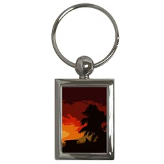 Landscape Key Chains (rectangle)  by Valentinaart