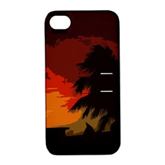 Landscape Apple Iphone 4/4s Hardshell Case With Stand by Valentinaart