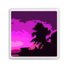 Landscape Memory Card Reader (square)  by Valentinaart