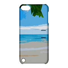 Landscape Apple Ipod Touch 5 Hardshell Case With Stand by Valentinaart