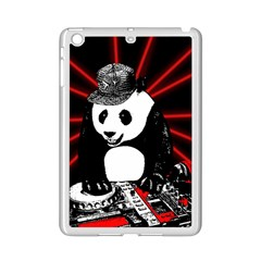 Deejay Panda Ipad Mini 2 Enamel Coated Cases by Valentinaart