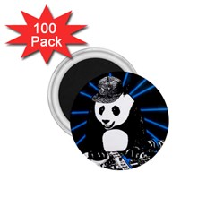 Deejay Panda 1 75  Magnets (100 Pack)  by Valentinaart