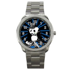 Deejay Panda Sport Metal Watch by Valentinaart