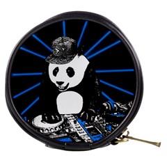 Deejay Panda Mini Makeup Bags by Valentinaart