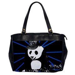 Deejay Panda Office Handbags by Valentinaart