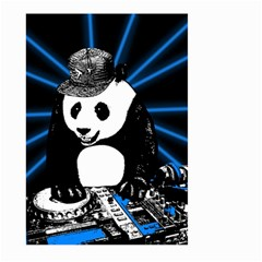 Deejay Panda Large Garden Flag (two Sides) by Valentinaart