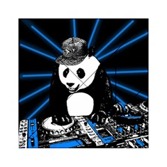 Deejay Panda Acrylic Tangram Puzzle (6  X 6 ) by Valentinaart