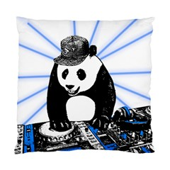 Deejay Panda Standard Cushion Case (two Sides) by Valentinaart