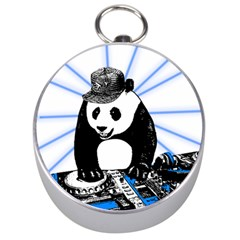 Deejay Panda Silver Compasses by Valentinaart