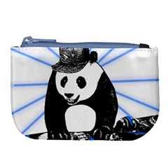 Deejay Panda Large Coin Purse by Valentinaart