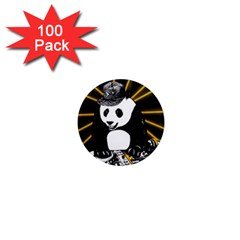 Deejay Panda 1  Mini Magnets (100 Pack)  by Valentinaart