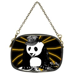 Deejay Panda Chain Purses (one Side)  by Valentinaart