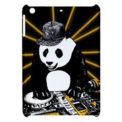 Deejay Panda Apple Ipad Mini Hardshell Case by Valentinaart