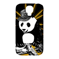 Deejay Panda Samsung Galaxy S4 Classic Hardshell Case (pc+silicone) by Valentinaart