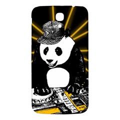 Deejay Panda Samsung Galaxy Mega I9200 Hardshell Back Case by Valentinaart