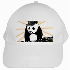 Deejay Panda White Cap by Valentinaart