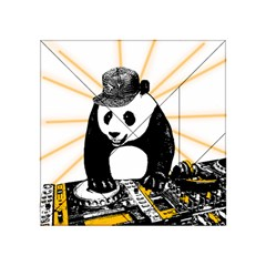 Deejay Panda Acrylic Tangram Puzzle (4  X 4 ) by Valentinaart