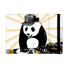 Deejay Panda Apple Ipad Mini Flip Case by Valentinaart