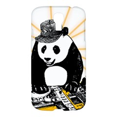 Deejay Panda Samsung Galaxy S4 I9500/i9505 Hardshell Case by Valentinaart
