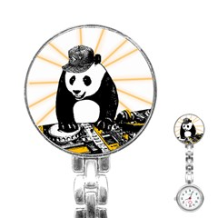 Deejay Panda Stainless Steel Nurses Watch by Valentinaart