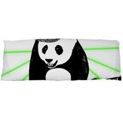 Deejay Panda Body Pillow Case Dakimakura (two Sides) by Valentinaart