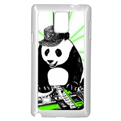 Deejay Panda Samsung Galaxy Note 4 Case (white) by Valentinaart