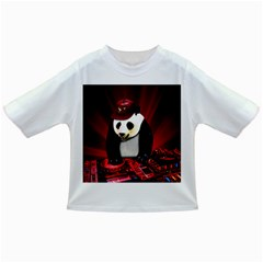 Deejay Panda Infant/toddler T Shirts by Valentinaart