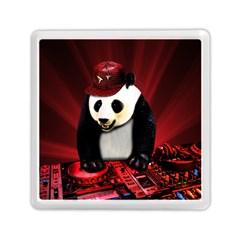 Deejay Panda Memory Card Reader (square)  by Valentinaart