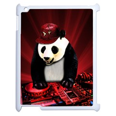 Deejay Panda Apple Ipad 2 Case (white) by Valentinaart