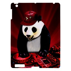 Deejay Panda Apple Ipad 3/4 Hardshell Case by Valentinaart