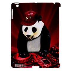Deejay Panda Apple Ipad 3/4 Hardshell Case (compatible With Smart Cover) by Valentinaart
