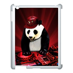 Deejay Panda Apple Ipad 3/4 Case (white) by Valentinaart