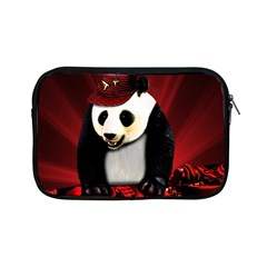 Deejay Panda Apple Ipad Mini Zipper Cases by Valentinaart