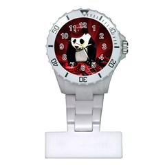 Deejay Panda Plastic Nurses Watch by Valentinaart
