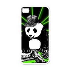 Deejay Panda Apple Iphone 4 Case (white) by Valentinaart