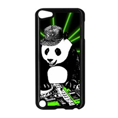 Deejay Panda Apple Ipod Touch 5 Case (black) by Valentinaart