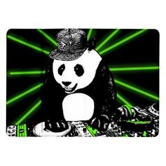 Deejay Panda Samsung Galaxy Tab 10 1  P7500 Flip Case by Valentinaart