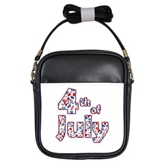 4th Of July Independence Day Girls Sling Bags by Valentinaart