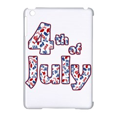 4th Of July Independence Day Apple Ipad Mini Hardshell Case (compatible With Smart Cover) by Valentinaart