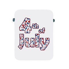 4th Of July Independence Day Apple Ipad 2/3/4 Protective Soft Cases by Valentinaart